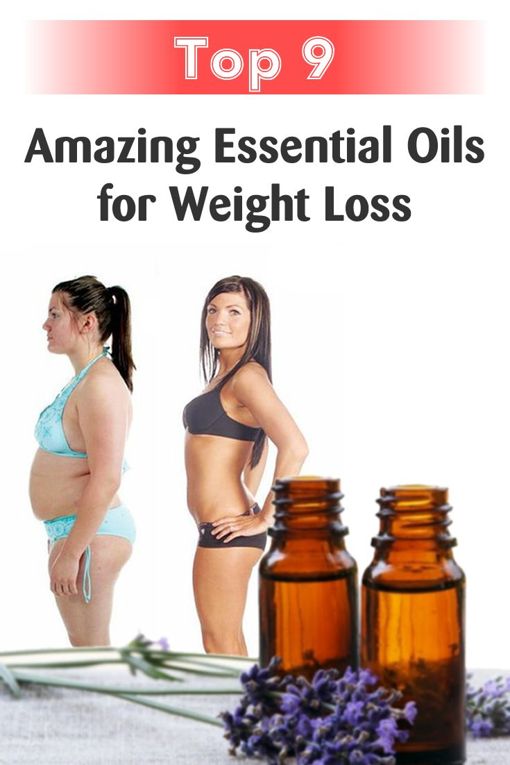 Top 9 Amazing Essential Oils for Weight Loss