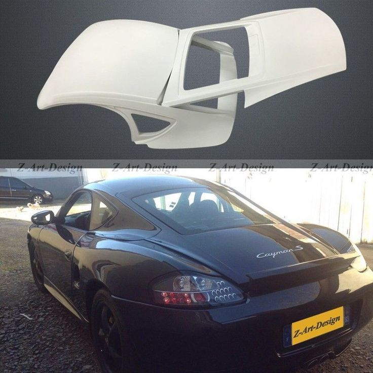 Z-ART Glass Fiber Hard top for Porsche 986/987 Boxster to Cayman style Z-top kit