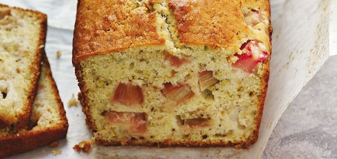 Cake à la rhubarbe et aux pistaches Recettes | Ricardo