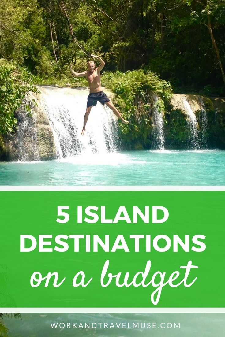 5 island destination to visit on a budget. Looking for budget destinations? These islands are great for the budget traveler.