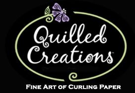 Quilling with Quilled Creations.  Very good source for tools, papers and kits.  I looked at my quilling supplies today and 90% came from these folks!