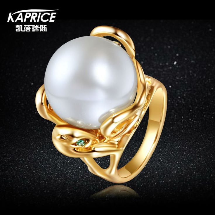 Find More Rings Information about KAPRICE Women Partys' Rhodium And Gold Plating Pearls in Snake Rings Fashion Jewelry 2017 For Gift Russia Wholesale,High Quality pearls wholesale,China gold plating Suppliers, Cheap pearl pearls from kaprice Official Store on Aliexpress.com