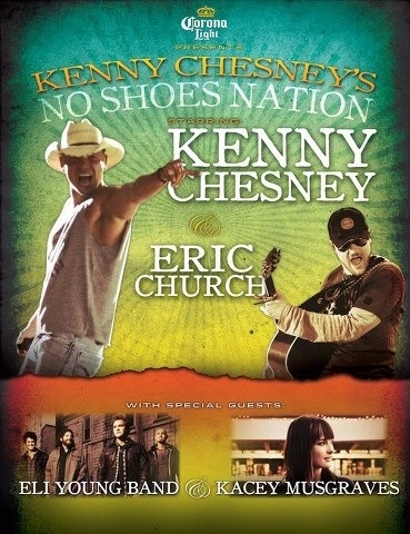 No Shoes Nation Tour 2013 @ Miller Park.  See you there!