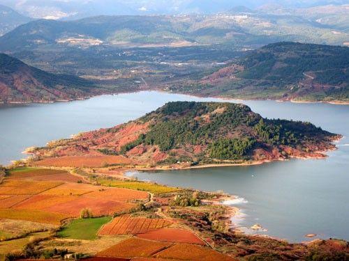 Lac du Salagou Les plus beaux coins de France