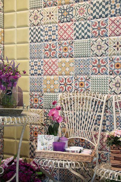 29 best ideas about mainzu on pinterest tile en vogue - Azulejos mainzu ...