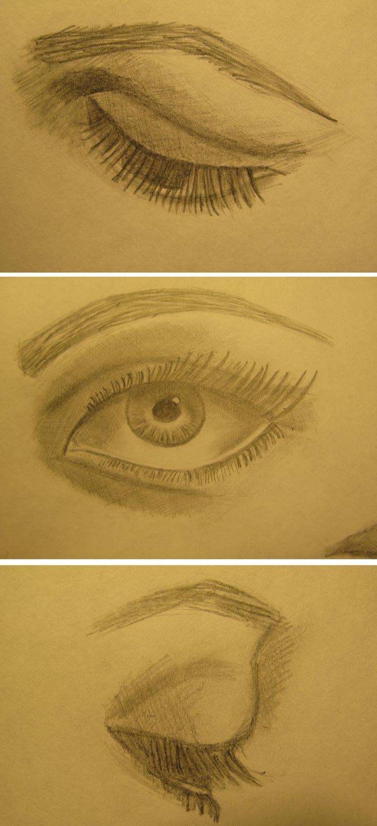 #drawing #pensil #eyes