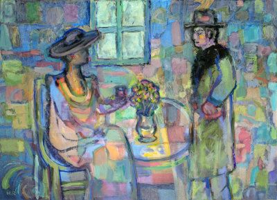 At the Cafe - Mike Roos