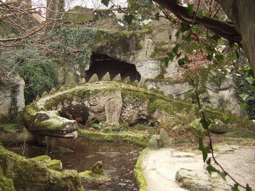"""This temple to the sturm and drang of Richard Wagner contains a dragon's cave and reptile zoo full of living  """"dragons"""""""