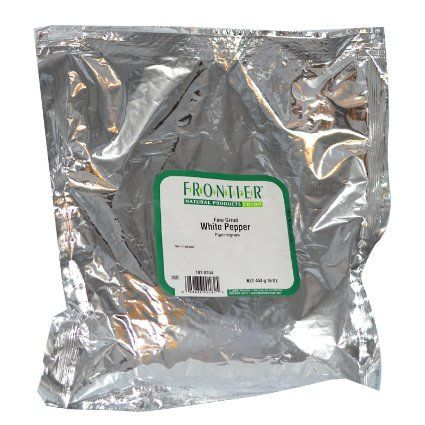 Frontier Herb Ground White Pepper (1x1lb)