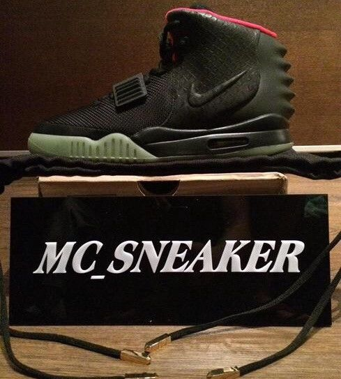 "Air Nike Yeezy 2 ""Solar Red"""