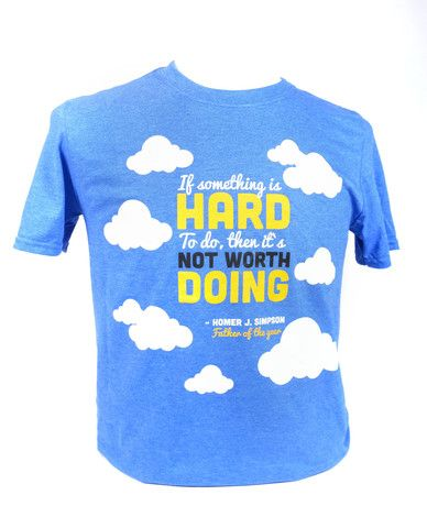 Epic Father's Day quote from Homer Simpson. A Make Vancouver Original t-shirt!