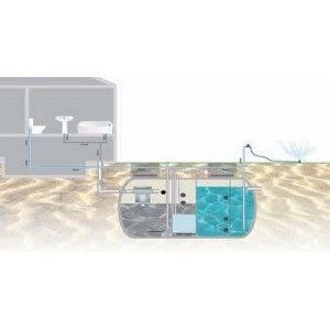 Estación Regeneradora de Aguas Grises, 300 Litros/Día.