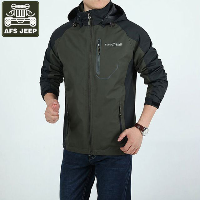 Promotion price AFS JEEP Brand Army Military Jacket Men Outwear Waterproof Mens Jacket Bomber Jacket Men Jaqueta Masculina Chaqueta Hombre just only $34.98 with free shipping worldwide  #jacketscoatsformen Plese click on picture to see our special price for you