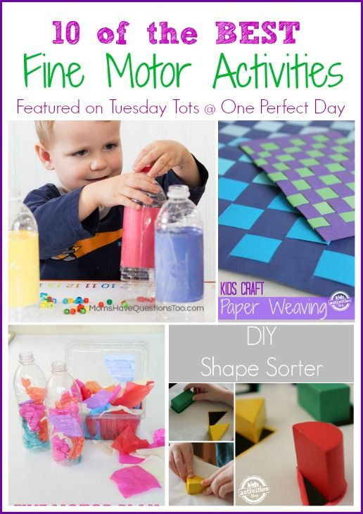 Fine Motor Skills Activities for Kids - One Perfect Day
