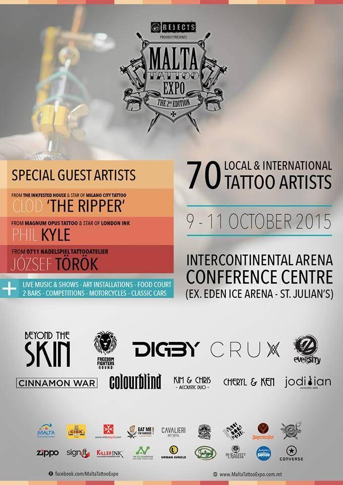 2nd Malta Tattoo Expo | Tattoo Filter