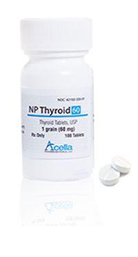 Acella Np Thyroid Vs Nature Throid