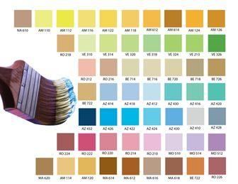Consejos para pintar las fachadas de la casa colores for Paletas de colores para pintar casas