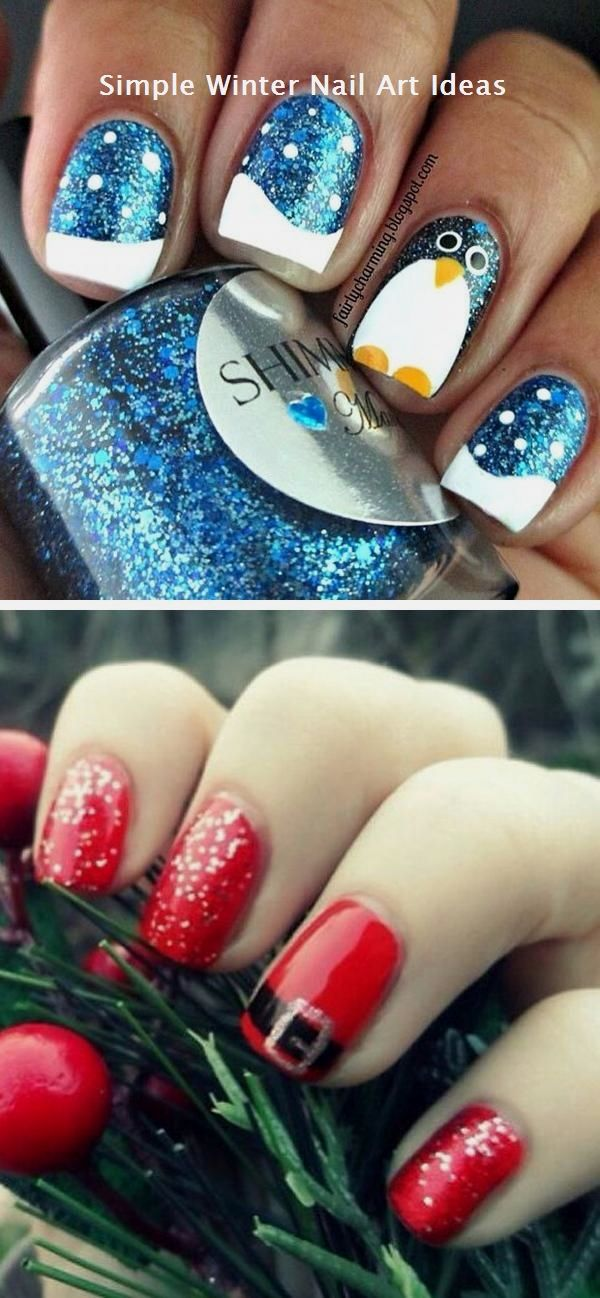 27 MOTIVE FOR WINTER \u0026 CHRISTMAS NAIL ART IDEAS nails