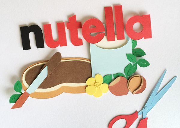 giochi di carta: Video stop motion Nutella