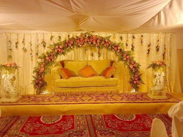 Best 25 pakistani wedding stage ideas on pinterest for Arab wedding decoration ideas