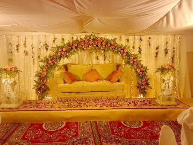 The 25 best ideas about pakistani wedding stage on pinterest pakistani wedding decor indian Latest decoration ideas