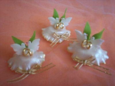 """""""Creaciones Aurallen"""" - Variedad de encintados y souvenirs en porcelana fría. - Novios"""