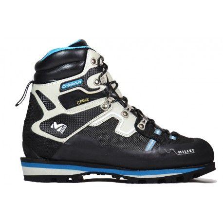 L'équilibre parfait pour vos aventures en altitude !  Les chaussures d'alpinisme et trekking LD Charpoua Gore-Tex® de Millet raviront les marcheuses les plus exigeantes.
