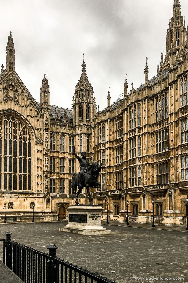 The beautiful Houses of Parliament in Westminster, London, England. #london #housesofparliament #westminster #architecture