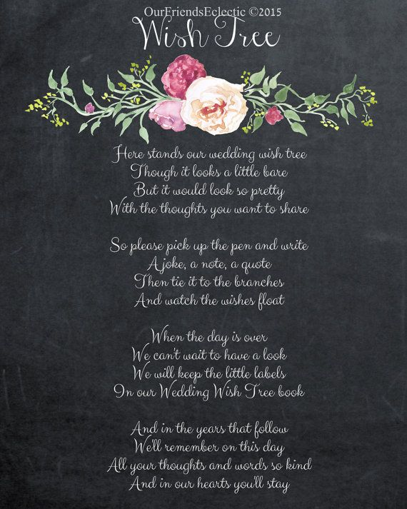 printable wedding signchalkboard wedding by OurFriendsEclectic