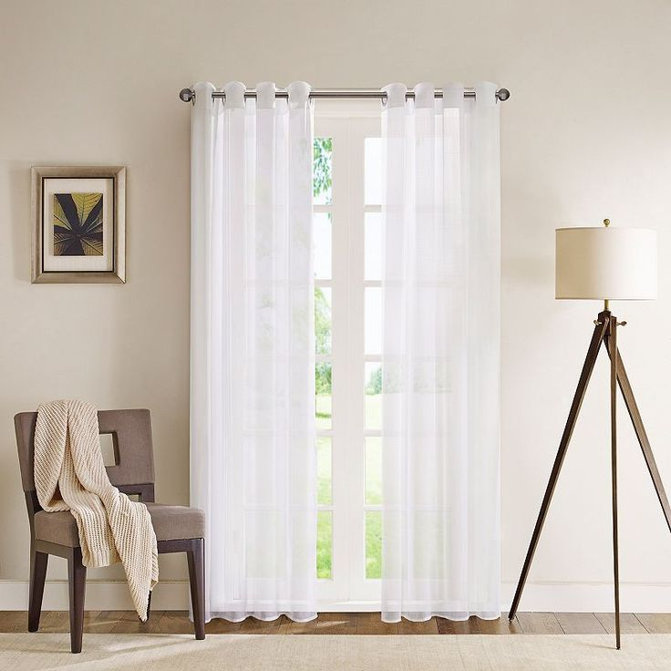 1000+ Ideas About White Sheer Curtains On Pinterest