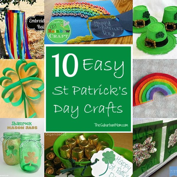 10 Easy St. Patrick's Day Crafts For Kids | TheSuburbanMom