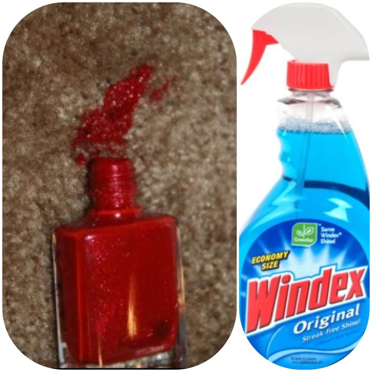 I Seen On Here That Windex Was Useful For Cleaning Ur
