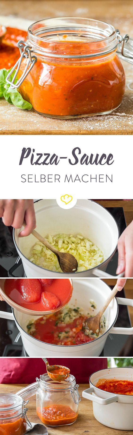 Pizzasauce aus dem Supermarkt? Das geht besser! Hier findest du alles, was du über klassische Pizzasauce wie aus der Lieblingspizzeria wissen musst.