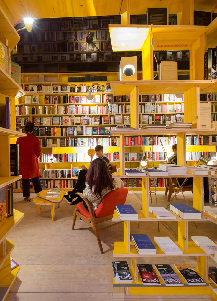 Libreria By SelgasCano Features Handmade Wooden Bookshelves Based On The  Fictional Library Of Babel And A Strict No Phone Policy Amazing Ideas