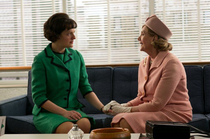 Pin for Later: Our All Time Favourite Mad Men Fashion Moments Season 6 Peggy Olson and Dot Campbell