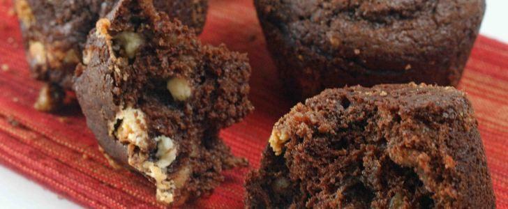 Post image for Chokolade muffins med 3 slags chokolade