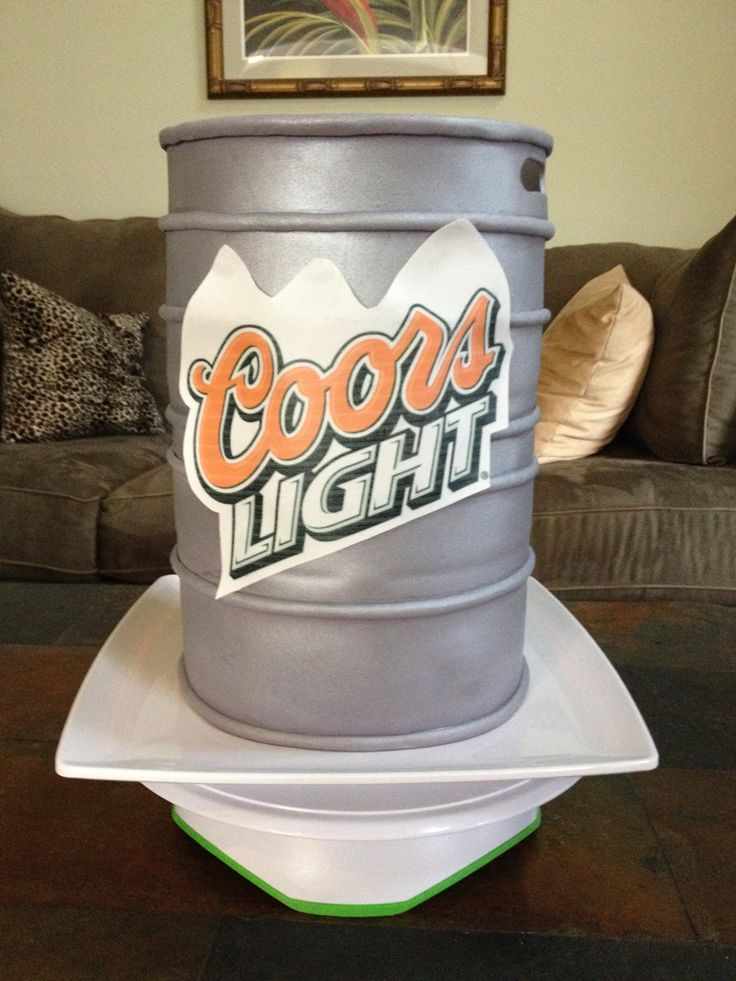 Beer Keg Cake Ideas