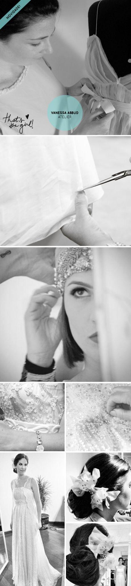 A super talentosa Vanessa Abbud acaba de abrir as portas do seu novo Atelier, onde cria vestidos de noiva e festa sob medida. Ainda em soft opening, mas trabalhando à todo vapor, acompanhe o Instagram da estilista para não perder nenhuma novidadade.