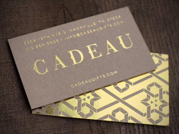 The 25 best foil business cards ideas on pinterest gold foil gold foil business card design 3 5 types of printing techniques for business cards with examples reheart Gallery