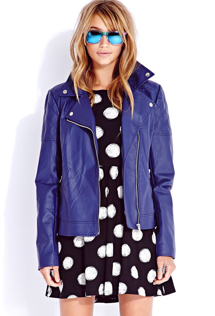 Anyone need a Rose Tyler jacket? #DoctorWho #Cosplay Street-Chic Moto Jacket | FOREVER21 - 2075254470