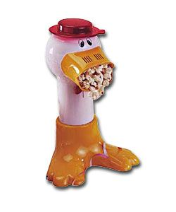 PRIMA PDP Duck  Popcorn Maker.  http://www.comparestoreprices.co.uk/kitchen-accessories/prima-pdp-duck.asp #popcornmakers #popcorn #gadgets #kitchengadgets #makepopcorn #giftideas #christmas2014 #christmasgifts #giftforhim #giftsforman