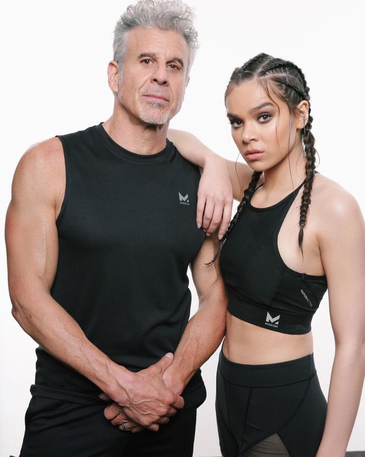 Hailee Steinfeld with her father Peter Steinfeld