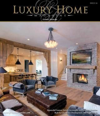 Luxury Home Magazine Nashville Issue 2.6  Welcome to the Greater Nashville online edition of Luxury Home Magazine. Search our collection of the finest Nashville Luxury Homes. Nashville premier estates, and Nashville Land for Sale. Often coined Music City, Athens of the South, Hollywood of the South, and Health Center of America, Nashville is often associated with the Tennessee Titans, Nashville Predators, HCA, Music Row, Country Music Hall of Fame, Grand Ole Opry, the Ryman, and the Gaylord…