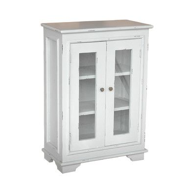 High Quality Jeffan Sevilla Small Cabinet With Glass Door