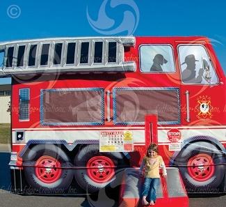 http://www.skyhighpartyrentals.com/firetruck-moonwalk-rental-delivery