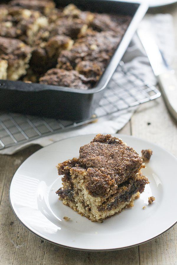 Recept voor een lekkere herfstcake met kaneel. Deze kaneelcake schuif je binnen no time in de oven, ideaal als je weinig tijd hebt.