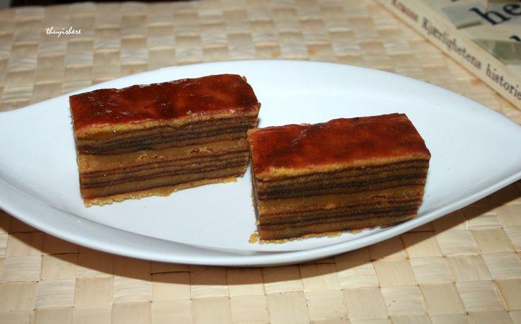 Indonesian thousand layer cake, kue lapis legit, Lapis Legit, Spekkoek, Spekuk