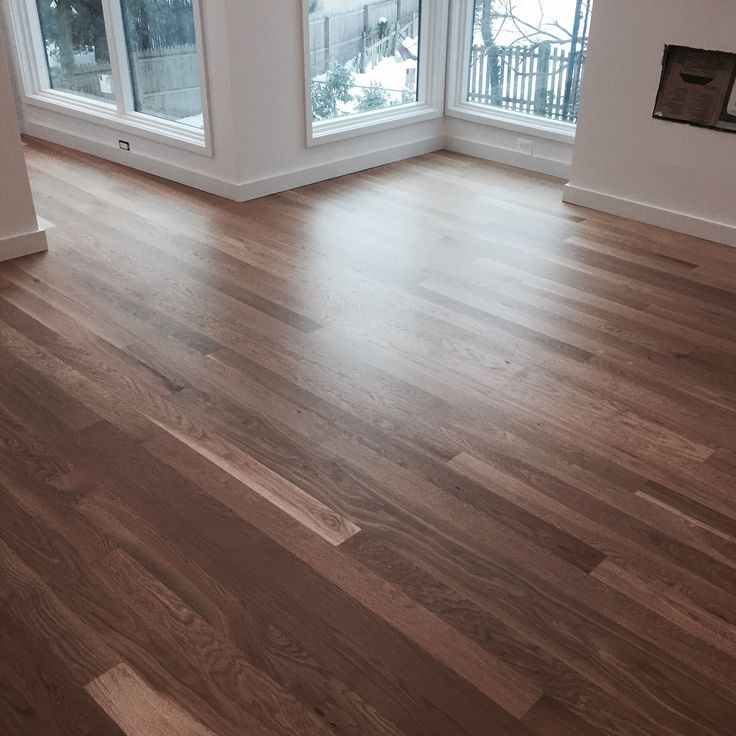 Locally Milled 5 Quot White Oak And Finished With Bona