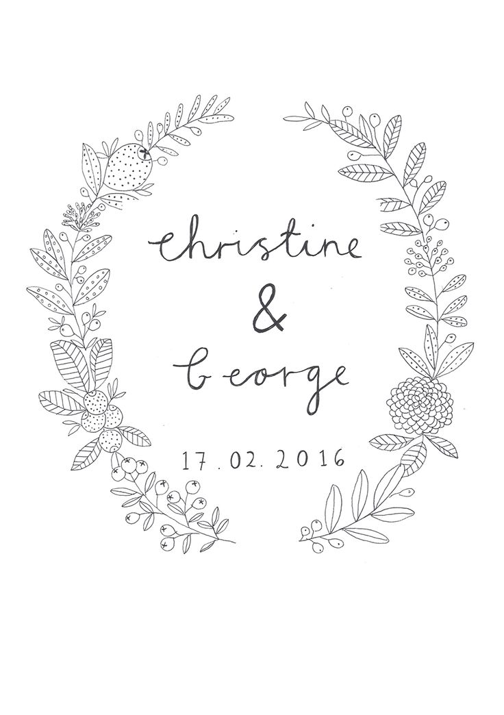 Wedding Invite design by Ryn Frank www.rynfrank.co.uk