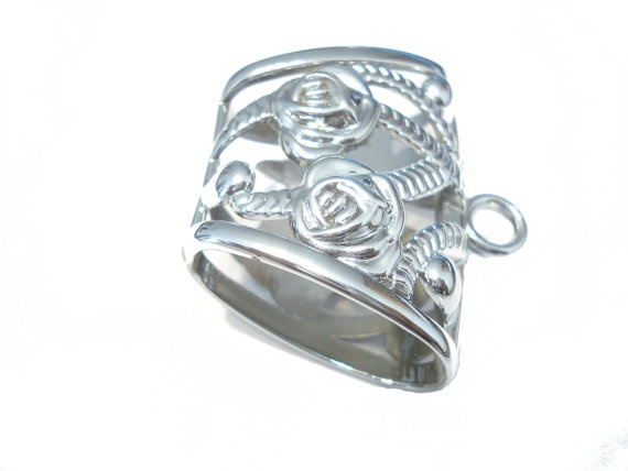 Free Shipping 2pcs  Fashion Jewelry DIY Silver Scarf by CoreInc, $3.99